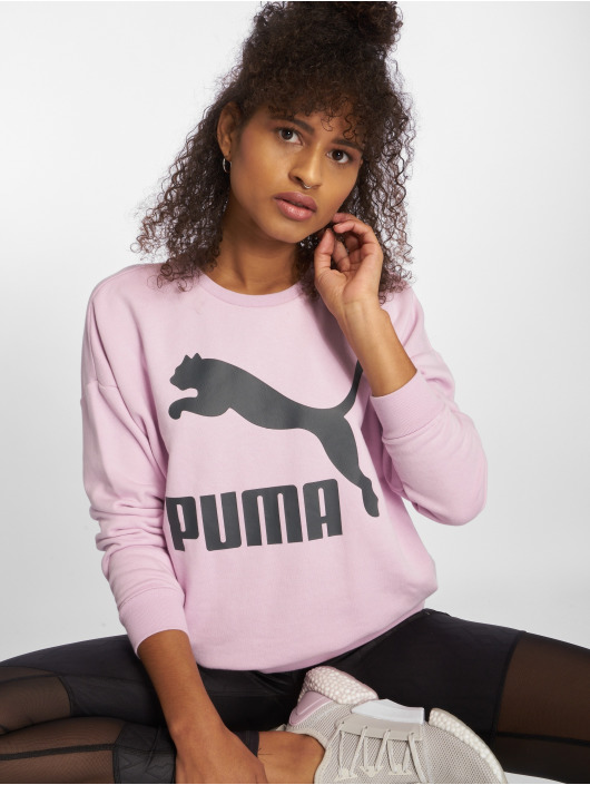 Puma Jersey Classics Logo púrpura