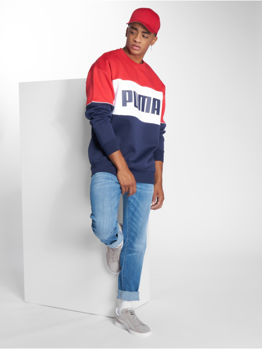 Puma Jersey Retro Dk rojo