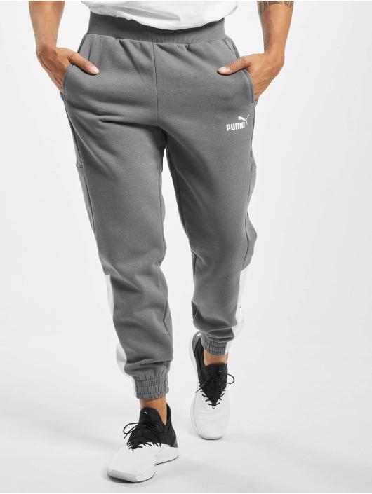 Puma Joggebukser Logo AOP Pack grå
