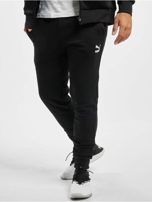 Puma Joggebukser Embroidery svart