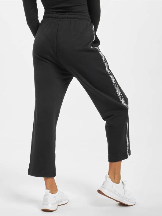 Puma Jogging kalhoty Tape čern