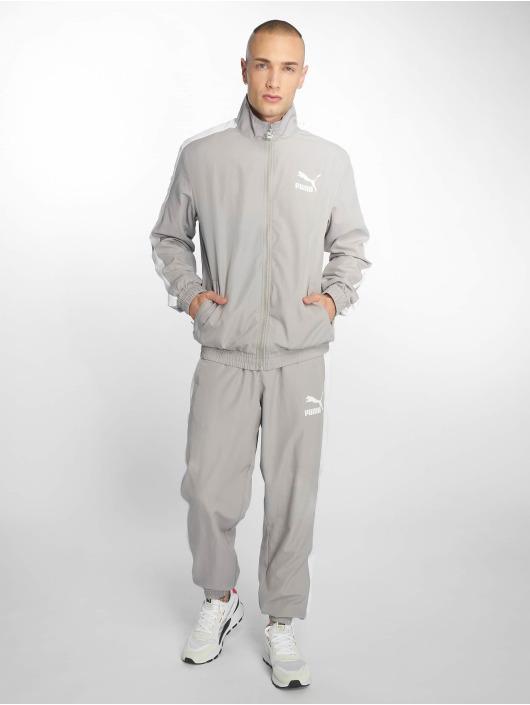 Puma joggingbroek Iconic T7 grijs