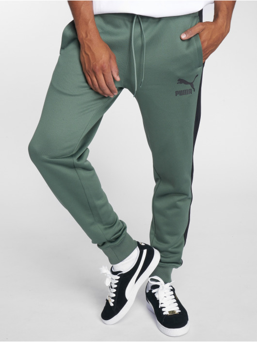 Puma joggingbroek Classics T7 olijfgroen