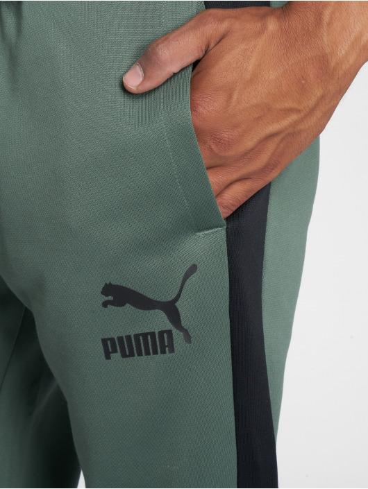 Puma Joggingbyxor Classics T7 oliv