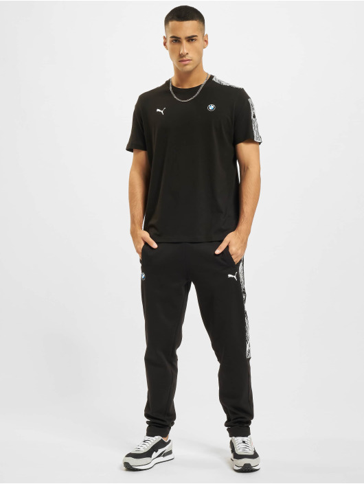 Puma Joggingbyxor BMW MMS T7 Slim Fit svart