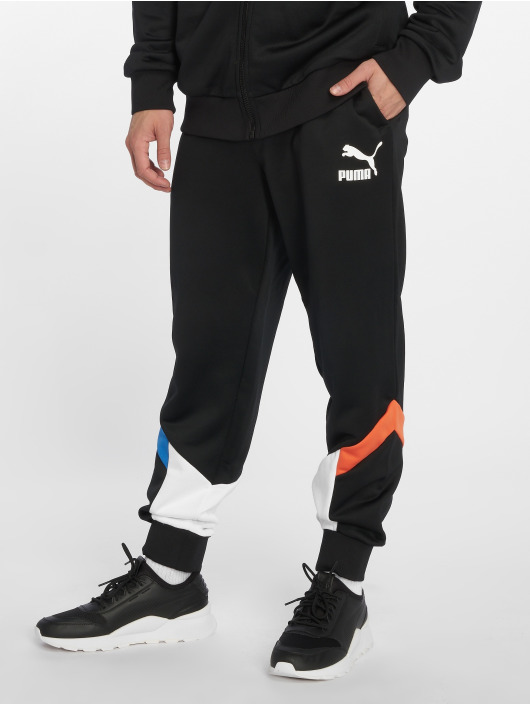 Puma Jogginghose MCS Track schwarz