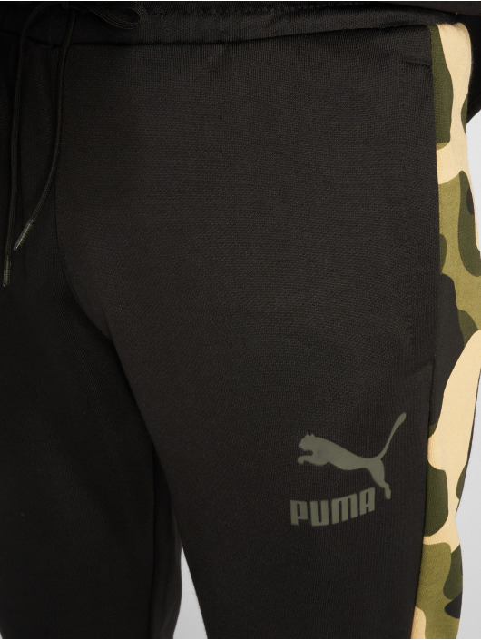 Puma Jogginghose Wild Pack schwarz