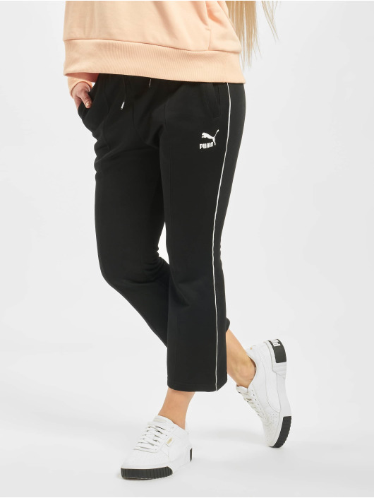 Puma Jogginghose Kick Flare schwarz