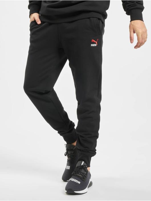 Puma Jogginghose Classics Emb schwarz