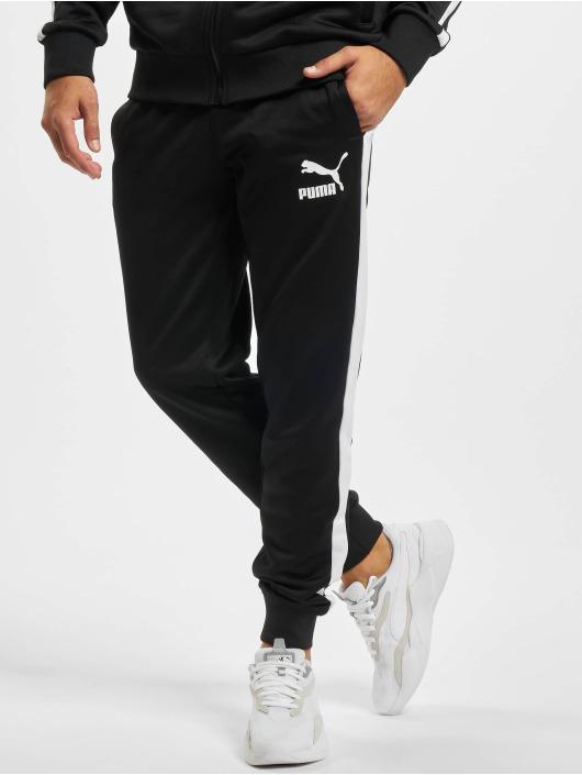 Puma Jogginghose Iconic schwarz