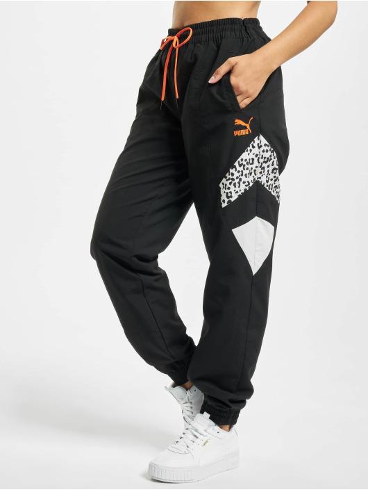 Puma Jogginghose Woven schwarz