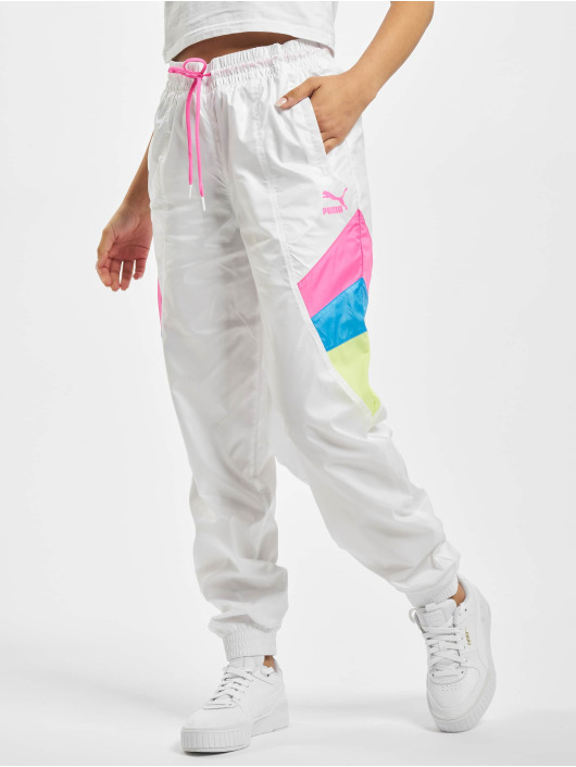 Puma Jogginghose Woven weiß