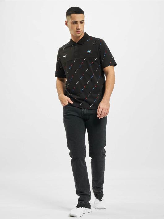 Puma Koszulki Polo BMW MMS AOP Polo czarny