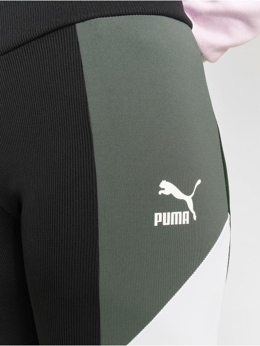 Puma Legging Retro Rib schwarz