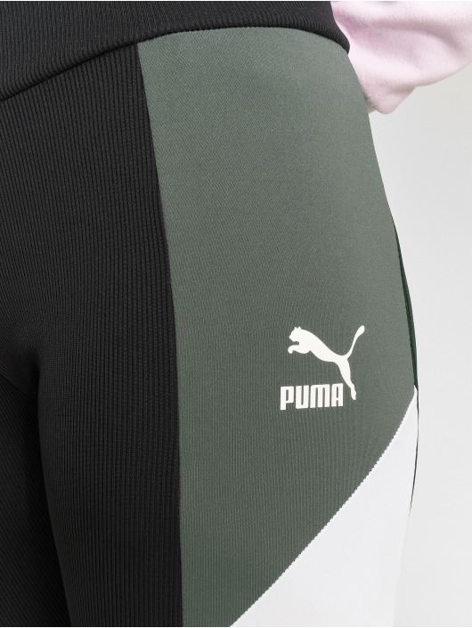 Puma Legging/Tregging Retro Rib negro
