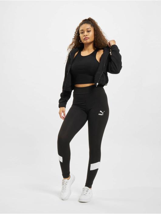 Puma Legging Iconic MCS HR zwart