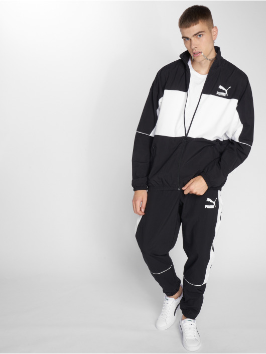 Puma Lightweight Jacket Retro Woven black