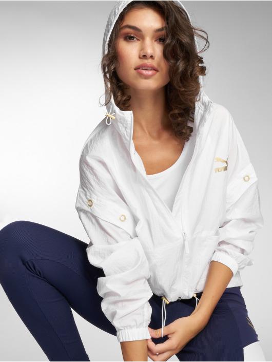 Puma Lightweight Jacket Retro white