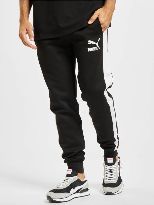 Puma Pantalón deportivo Iconic T7 DK negro