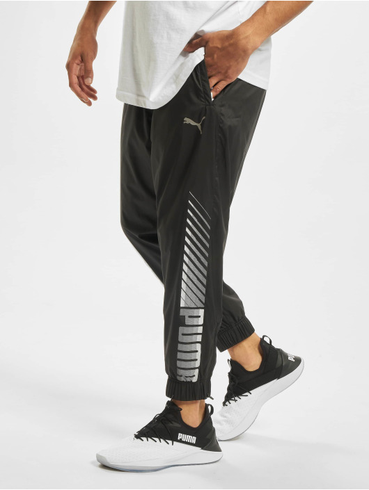 Puma Pantalone ginnico Collective Woven Sweat nero