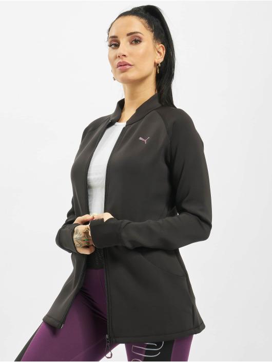 Puma Performance Демисезонная куртка Studio Q4 черный