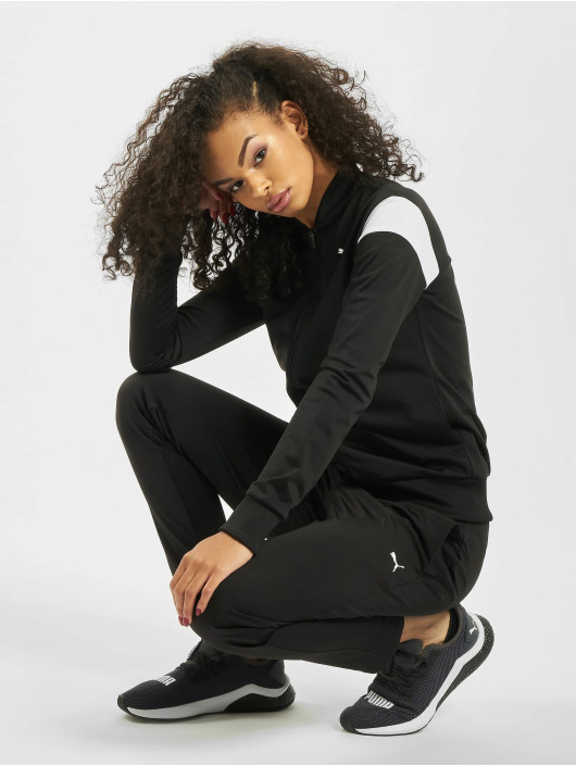Puma Performance Anzug Performance Claic Tricot OP schwarz