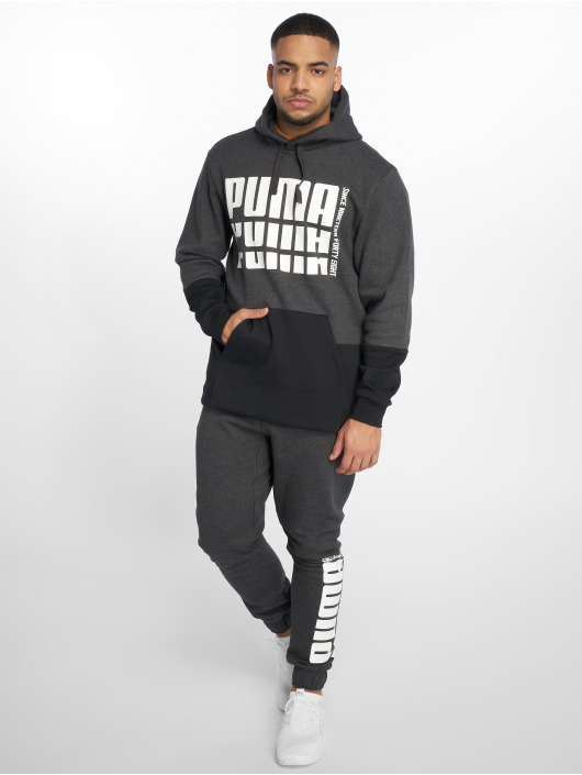 Puma Performance Bluzy z kapturem Rebel Up szary