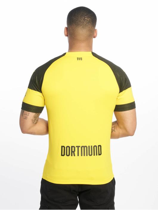 Puma Performance camiseta de fútbol BVB Home Replica Evonik Logo amarillo