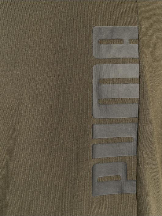 Puma Performance Camiseta Energy Triblend Graphic oliva