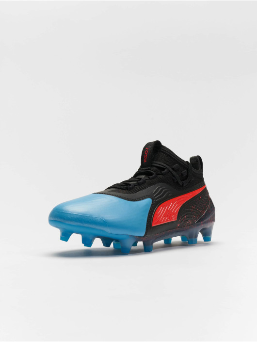 Puma Performance Chaussures d'extérieur One 19.1 FG/AG Junior bleu