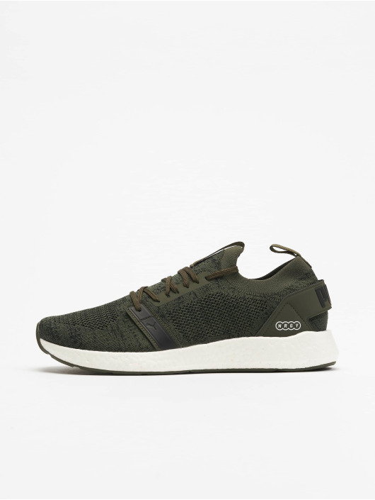 Puma Performance Fitnesssko NRGY Neko Engineer Knit khaki