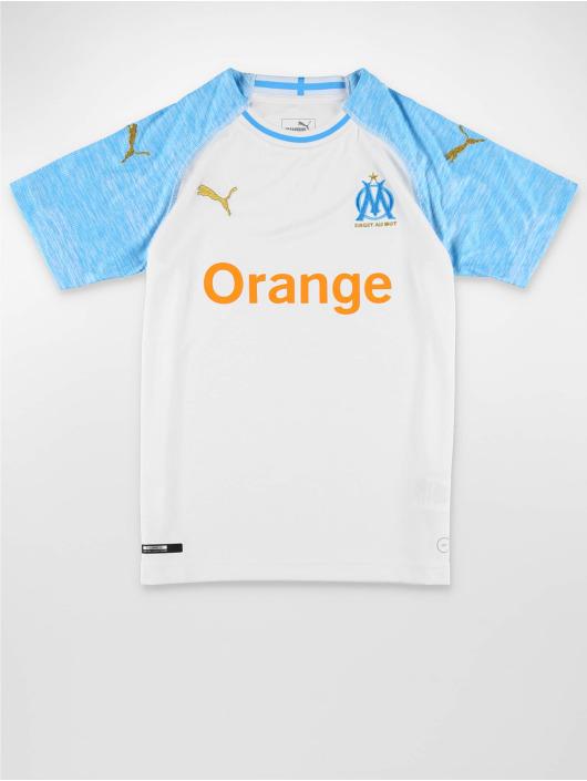 Puma Performance Fotballskjorter Olympique de Marseille Home Replica hvit