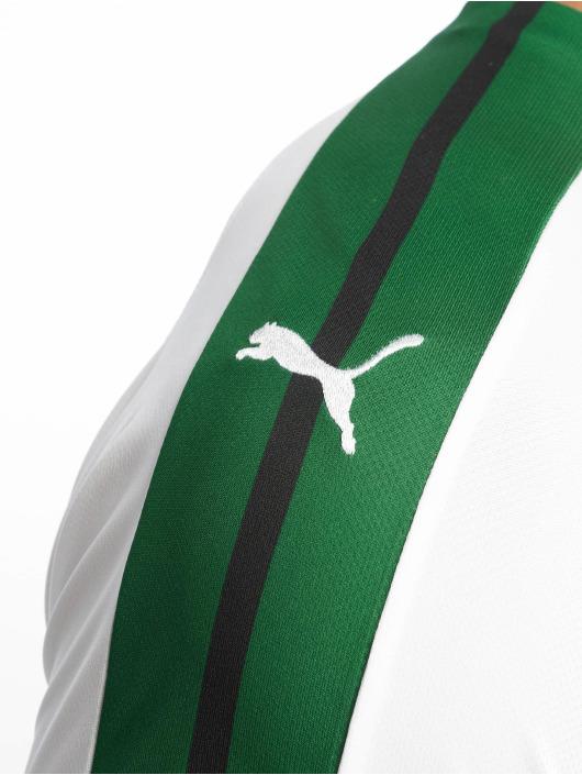 Puma Performance Fußballtrikots BMG Home Replica Sponsor Logo bialy