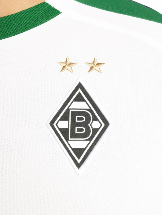 Puma Performance Fußballtrikots BMG Home Replica Sponsor Logo biela