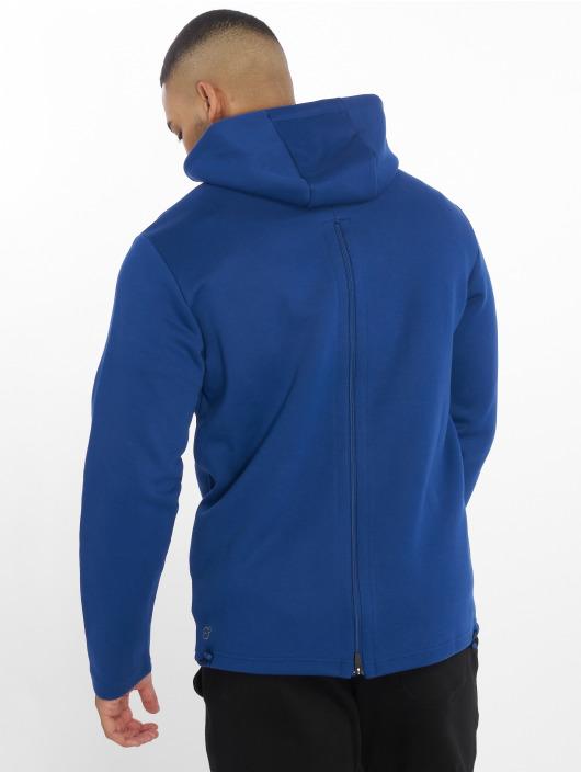 Puma Performance Hoodies con zip VENT blu