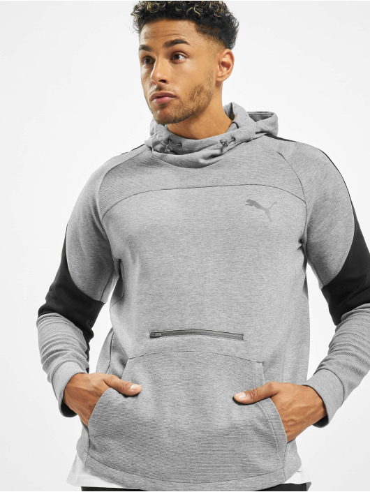 Puma Performance Hoody Performance Evostripe grau