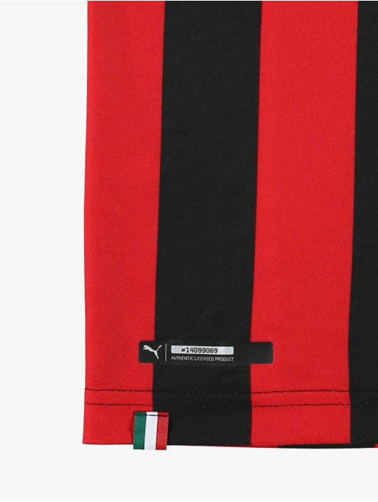 Puma Performance Jersey AC Milan HOME Jr. Replica èervená