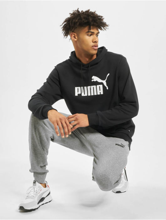 Puma Performance Jogger Pants Performance ESS Logo grau