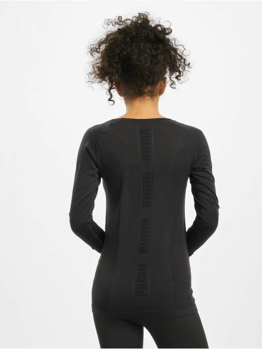 Puma Performance Kompresjon shirt Evoknit Seamle svart