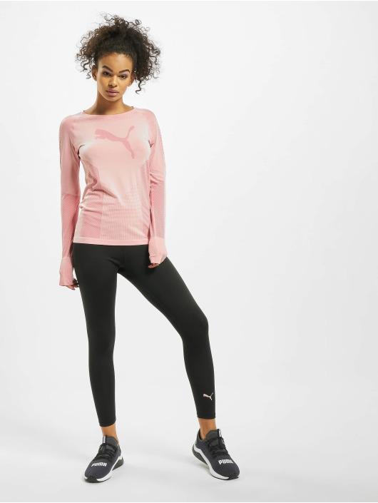 Puma Performance Kompressionsshirt Evoknit Seamle ružová