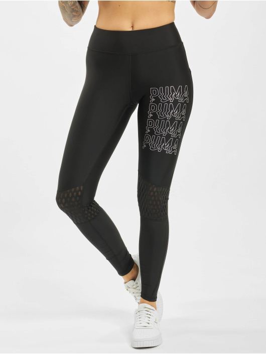 Puma Performance Leggings Shift Mesh nero