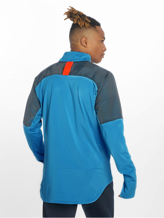 Puma Performance Lightweight Jacket 1/4 Zip blue