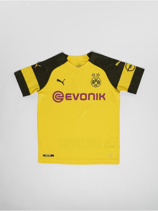 Puma Performance Maillot de Football BVB Jr Home Replica jaune