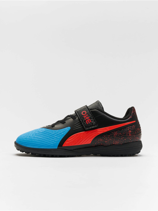 Puma Performance Outdoorschuhe One 19.4 TT Velcro Junior blau