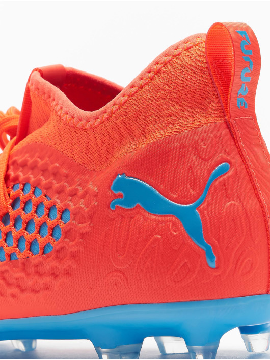 Puma Performance Outdoorschuhe Future 19.3 Netfit FG/AG czerwony