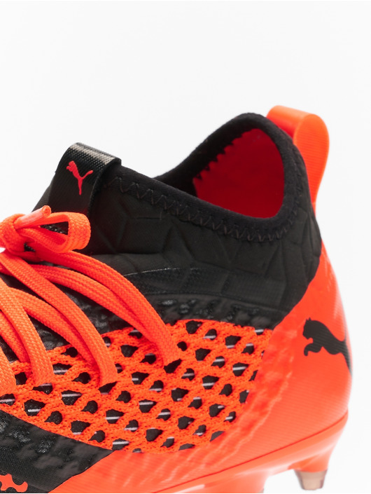 Puma Performance Future 2.3 Netfit FGAG JR Soccer Shoes Puma BlackShocking Orange