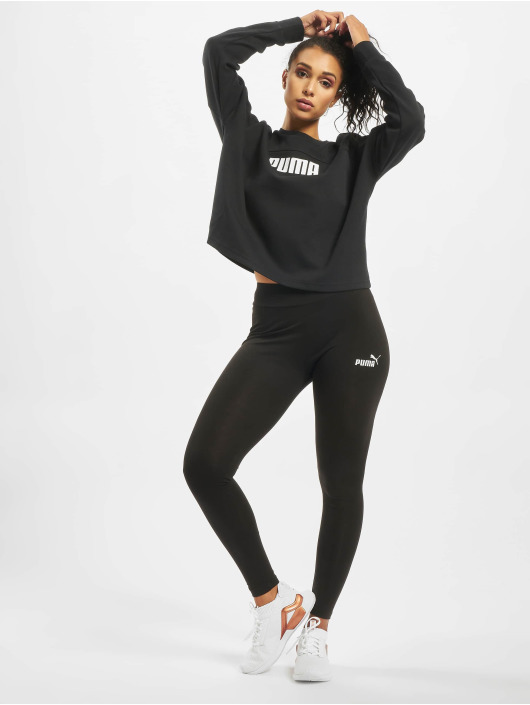 Puma Performance Pullover Nu-Tility Cropped schwarz