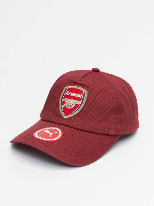 Puma Performance Snapback Caps Arsenal Training červený