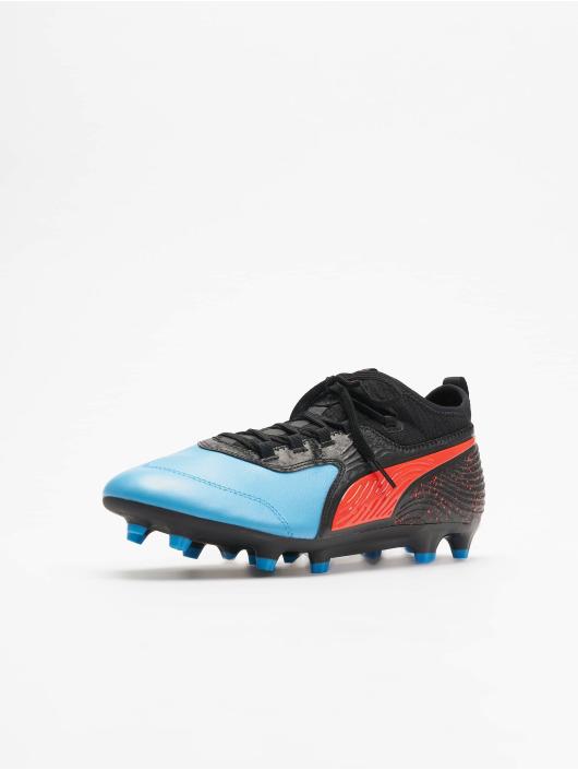 Puma Performance Sneakers One 19.3 Syn FG/AG modrá