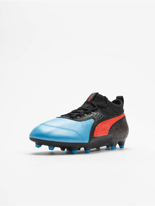 Puma Performance Sneakers One 19.3 FG/AG Junior niebieski